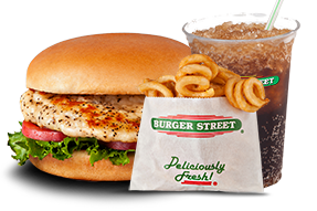 Burger Street Grilled Chicken Combo